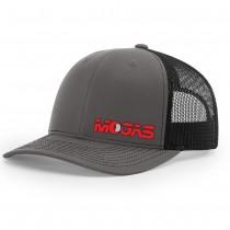Mogas Richardson Mesh Back Trucker Hat - Charcoal/Black