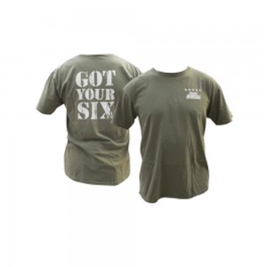 Got Your Six T-shirt - Military Green
