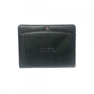 Wenger® Zippered Padfolio - Black
