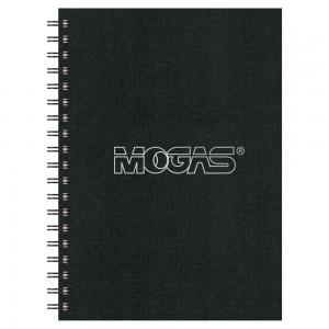 Classic Cover Medium NoteBook - 7x10 - Black