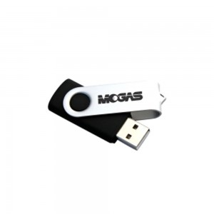 Swivel USB Flash Drive 4GB - Silver