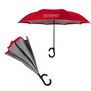 ViceVersa Inverted Umbrella - Red