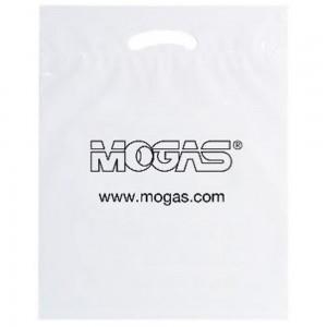 Reusable Fold-Over Reinforced Bag - White (PK/25)
